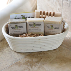 perfect gift, olive oil soap, soap gift basket