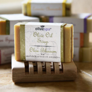 Olivespa Natural scented olive oil soap, Olive Blossom scent, 4 oz.