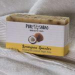 Coconut Oil handmade, handcrafted natural coconut soap. Lemongrass, Lavender soap