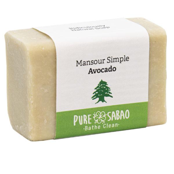 Avocado soap made in Lebanon